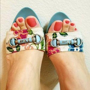 Christian Dior Heels Clog Mules Slide Sandals